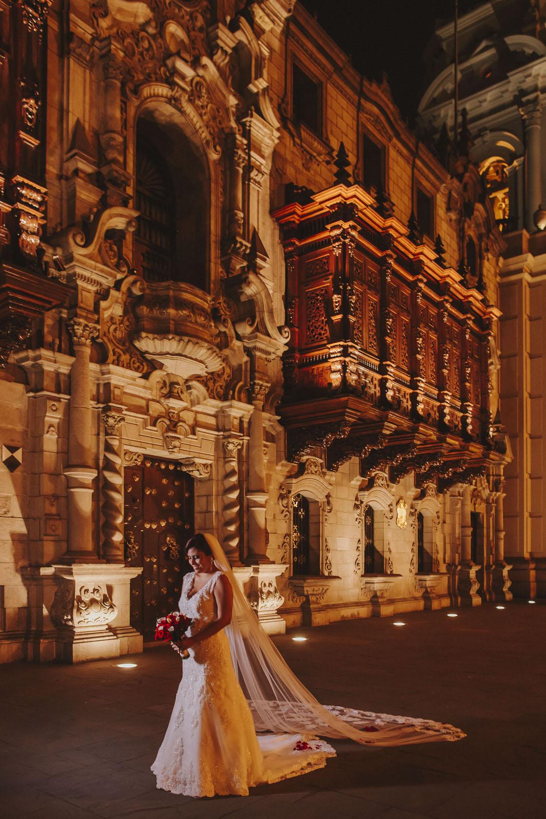 novia catedral de lima