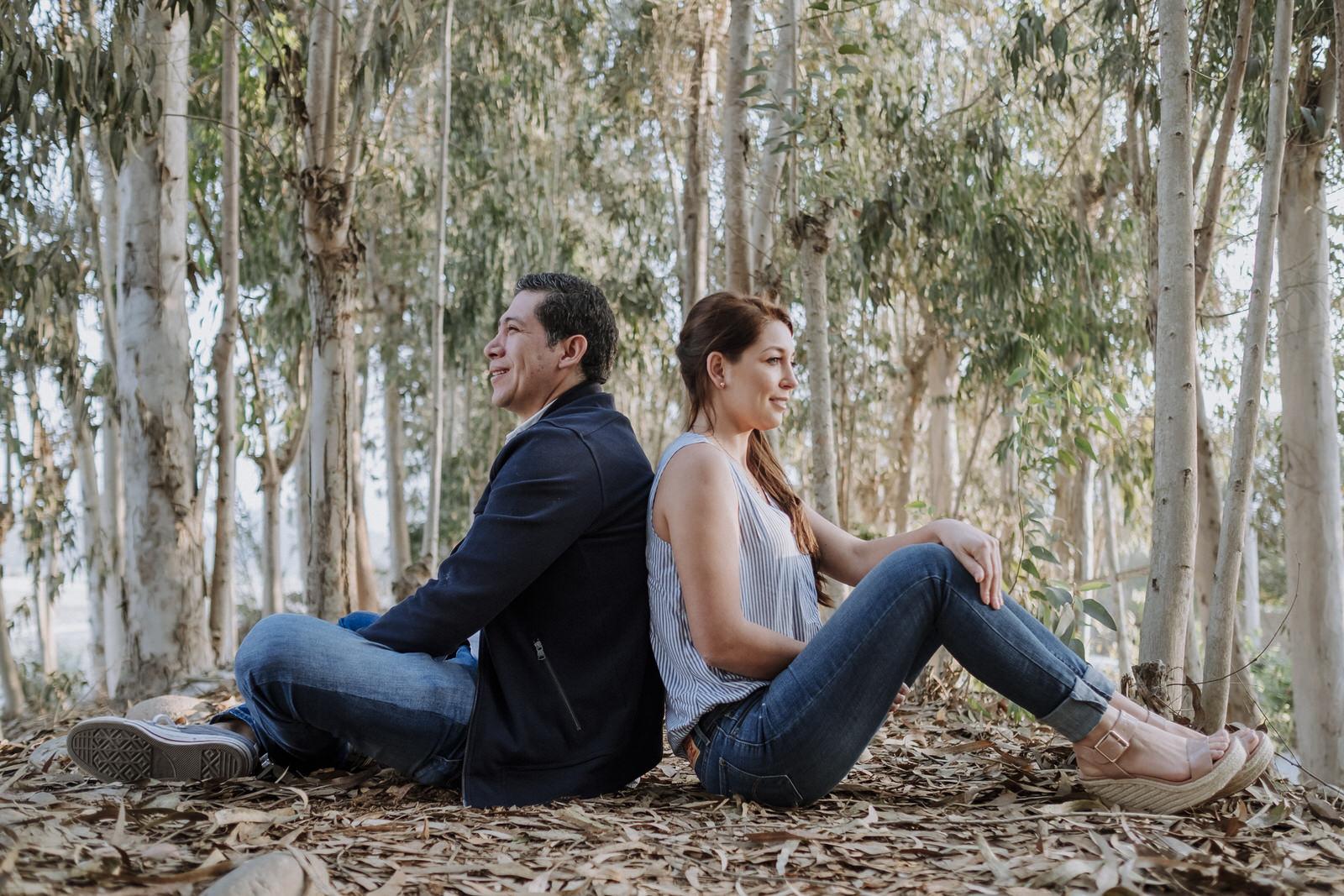 Juanita y Roy en Cieneguilla