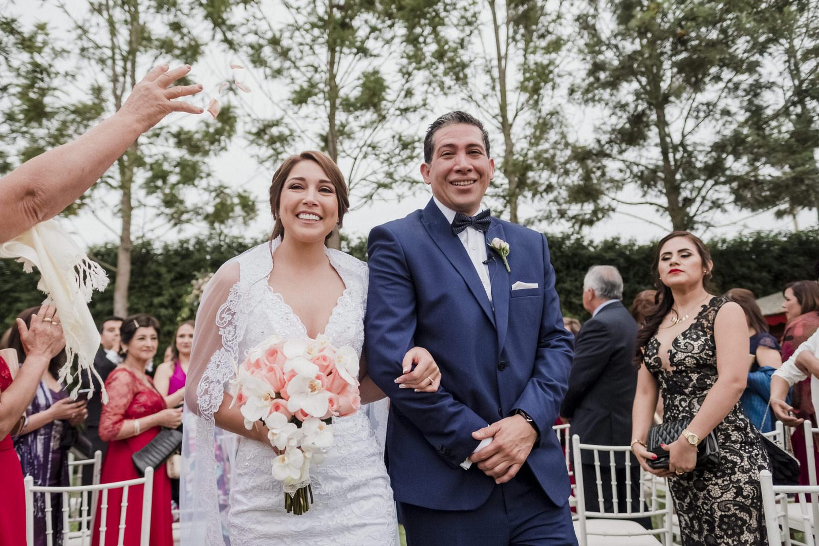 Boda de Juanita y Roy en Pachacamac